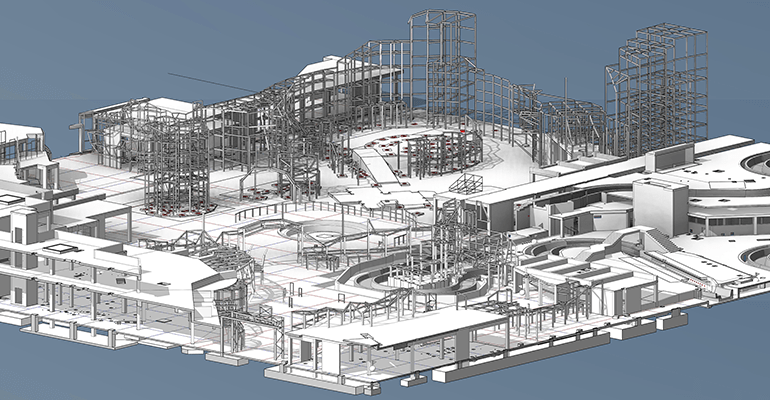 BIM Fabrication Shop Drawing Services